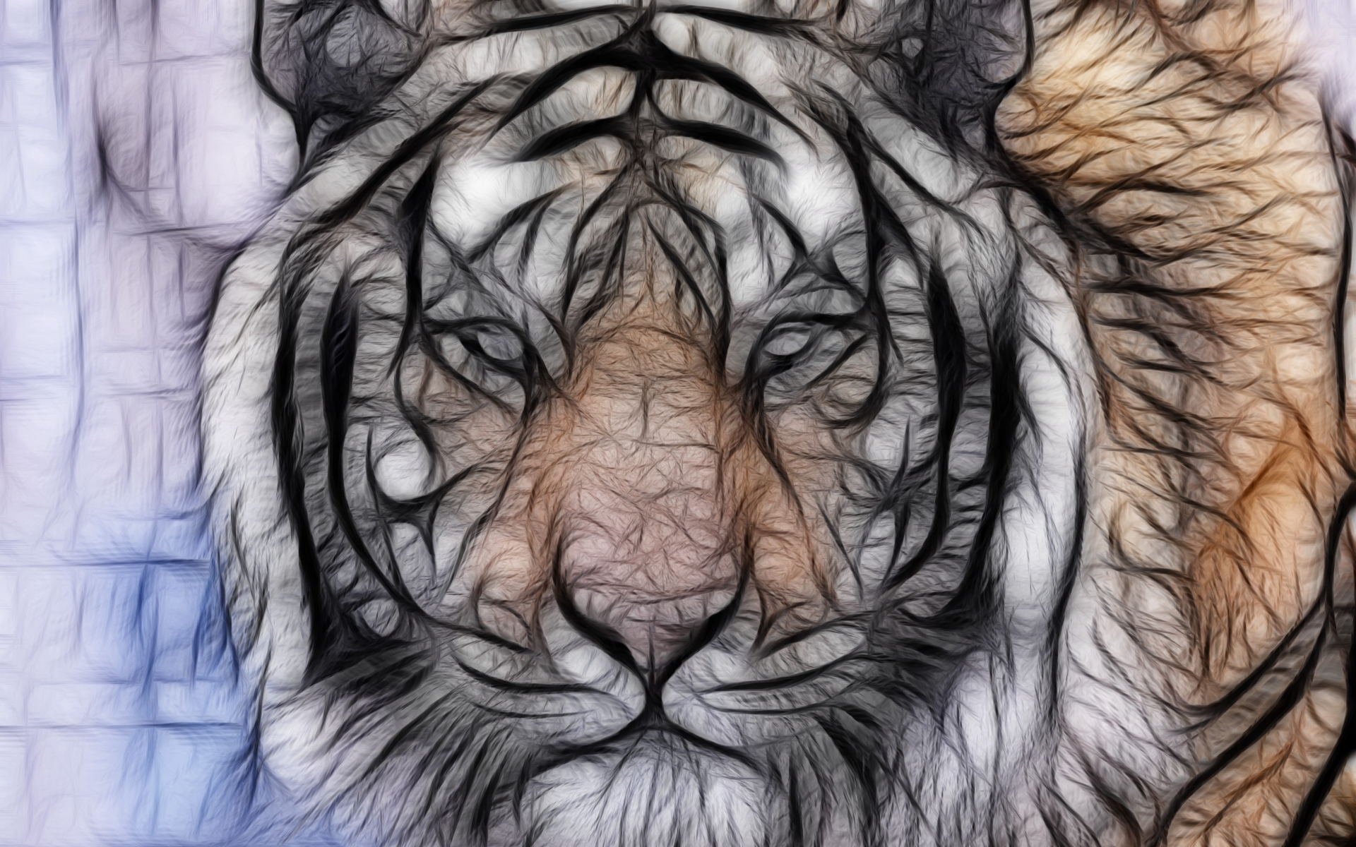 Abstract fractal art cg digital tiger stripes pattern predator pov abstract fractal art cg digital tiger stripes pattern predator pov eyes wallpaper 1920x1200 27748 wallpaperup thecheapjerseys Gallery
