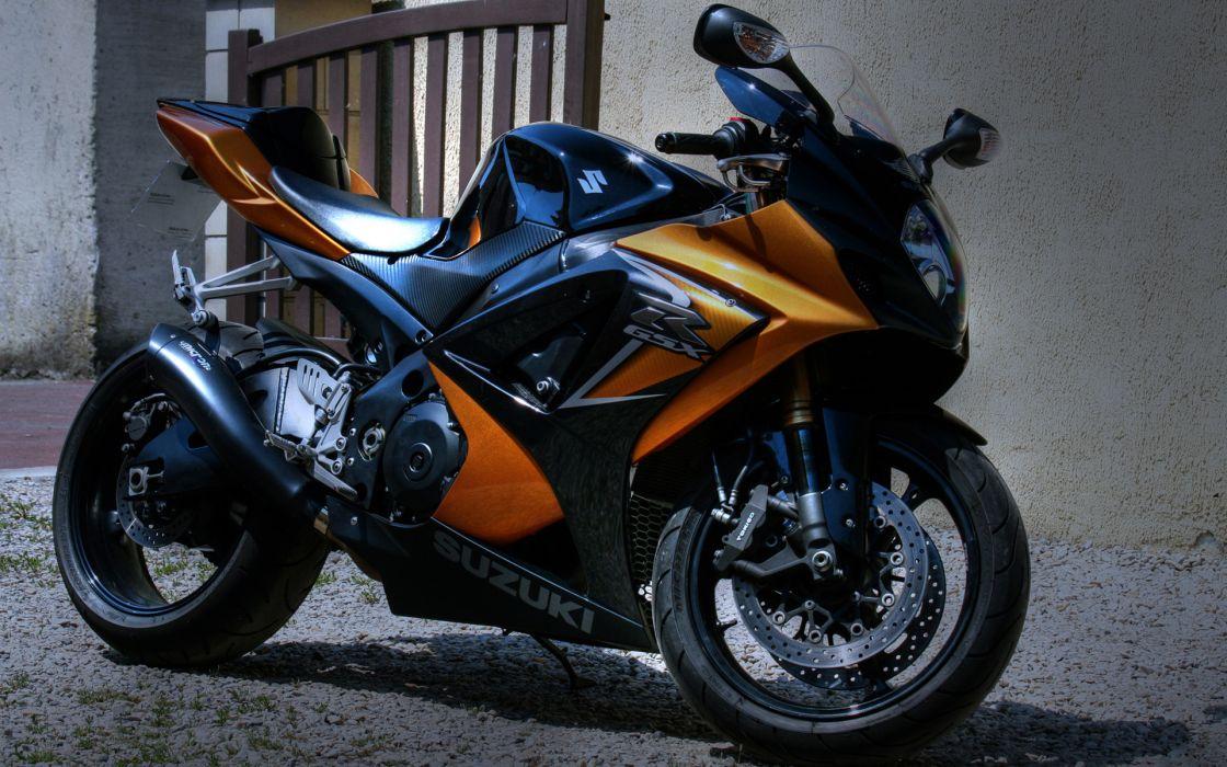 Suzuki Copper GSXR vehicles motorcycles motorbikes bikes stance superbike wallpaper