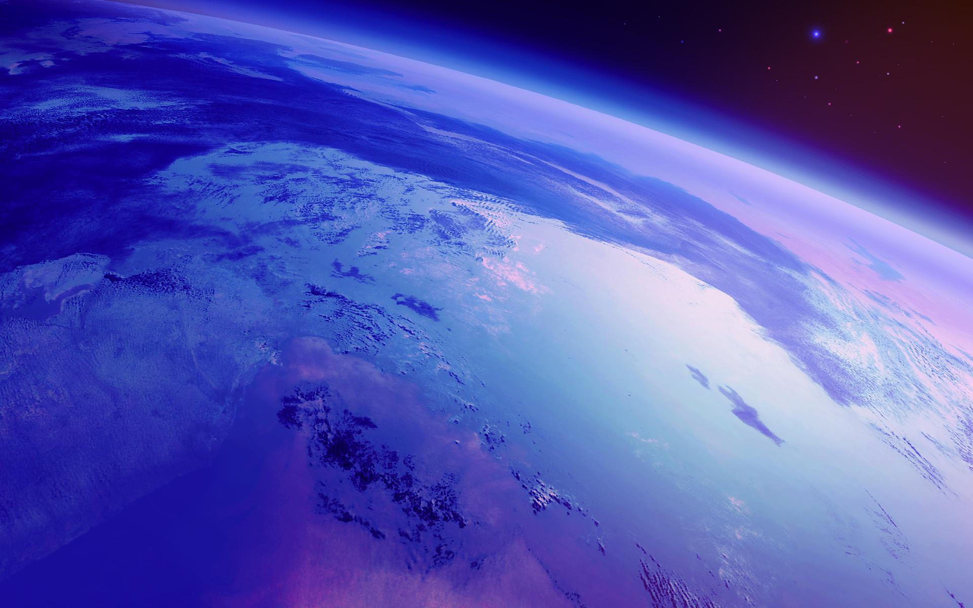 Обои Земля планета космос картинки на рабочий стол на тему Космос - скачать  № 3551638 без смс
