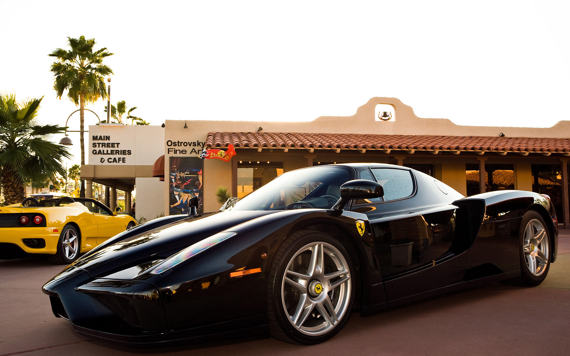 Ferrari Enzo 360 Vehicles Cars Auto Supercar Black Stance Exotic Wallpaper 1920x1200 27822 Wallpaperup