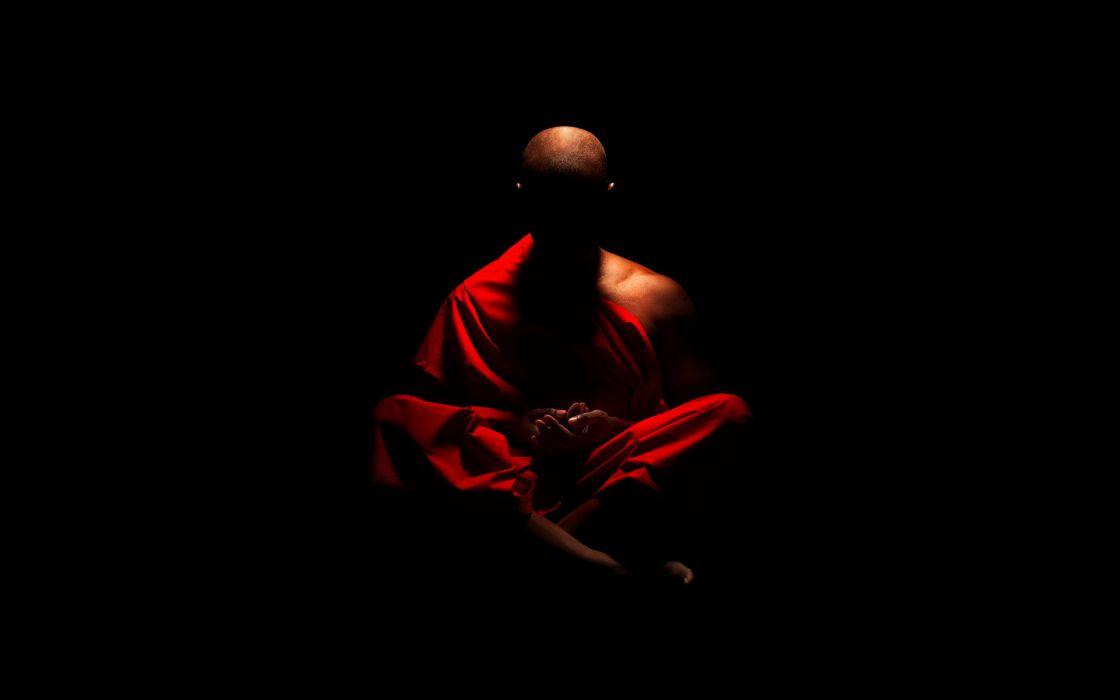 meditation Buddhism monk religion robe zen  wallpaper