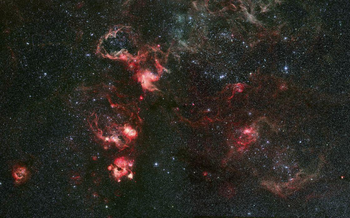 sci fi science space universe stars nebula dust birth wallpaper