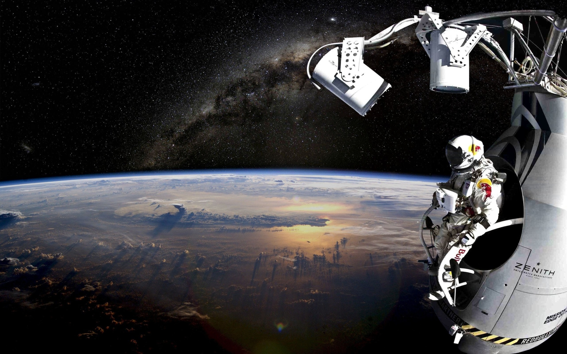 Astronauts Art Wallpaper - Pics about space