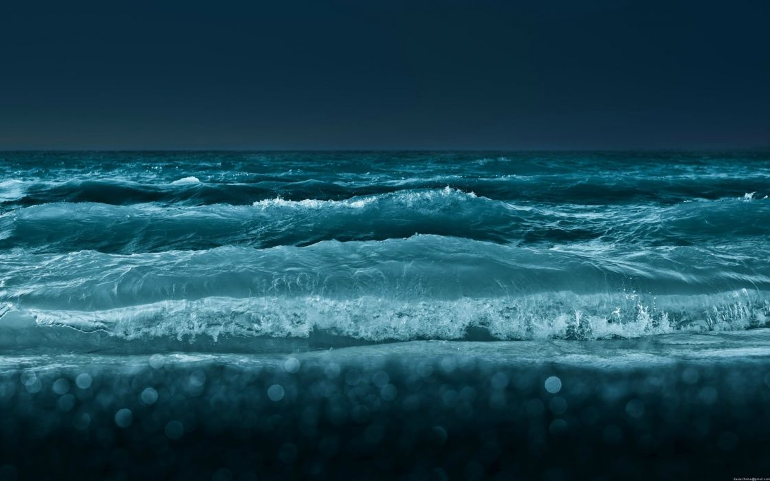 ocean sea waves wallpaper