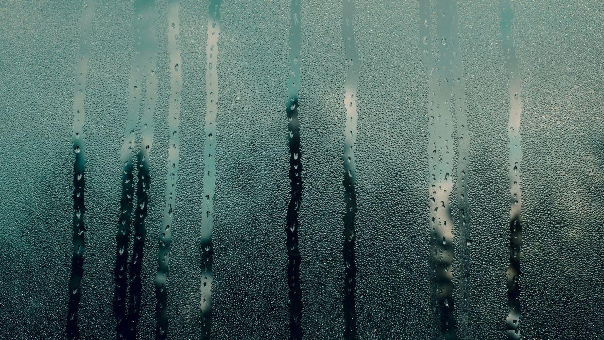 glass water drops wallpaper