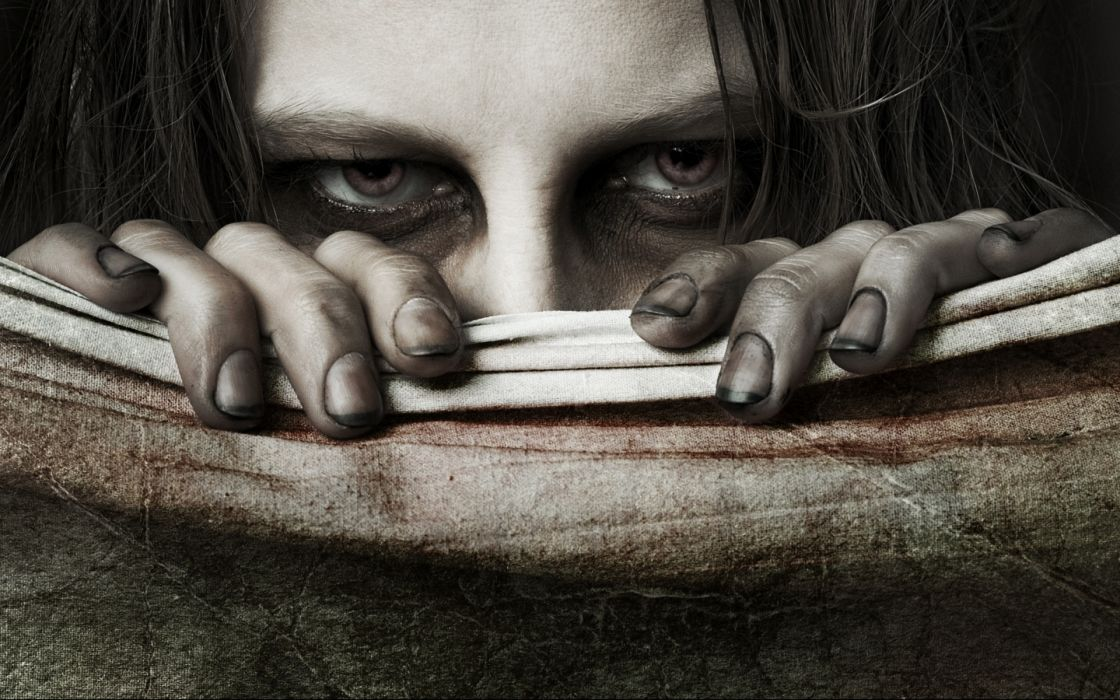 dark mood eyes evil scary horror creepy wallpaper
