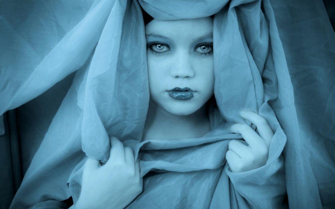 women fantasy face eyes lips mood gothic wallpaper