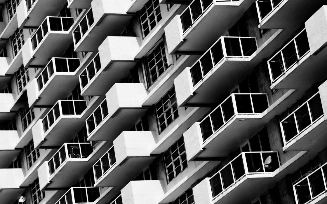 buildings black white wallpaper