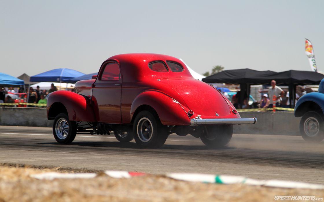 drag racing hot rod retro classic cars auto wallpaper