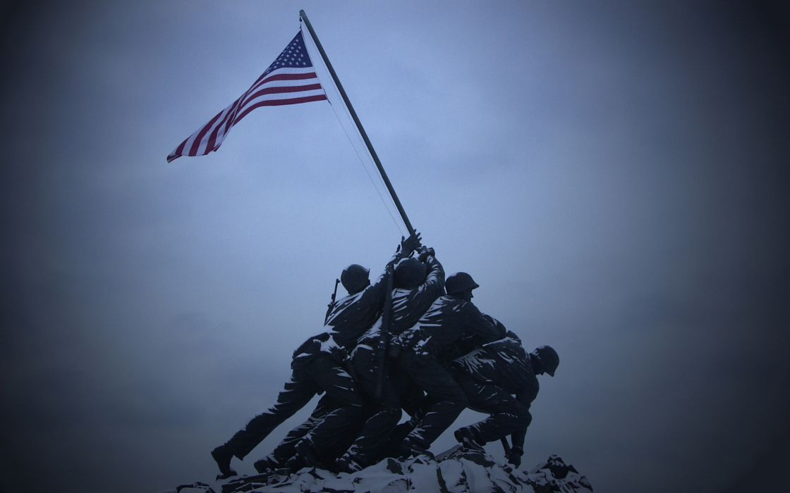 military warrior soldier flags usa memorial statue wallpaper