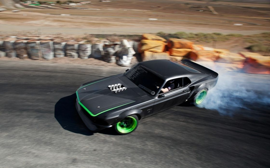 ford mustang hot rod classic muscle cars racing drift tuning race track wallpaper