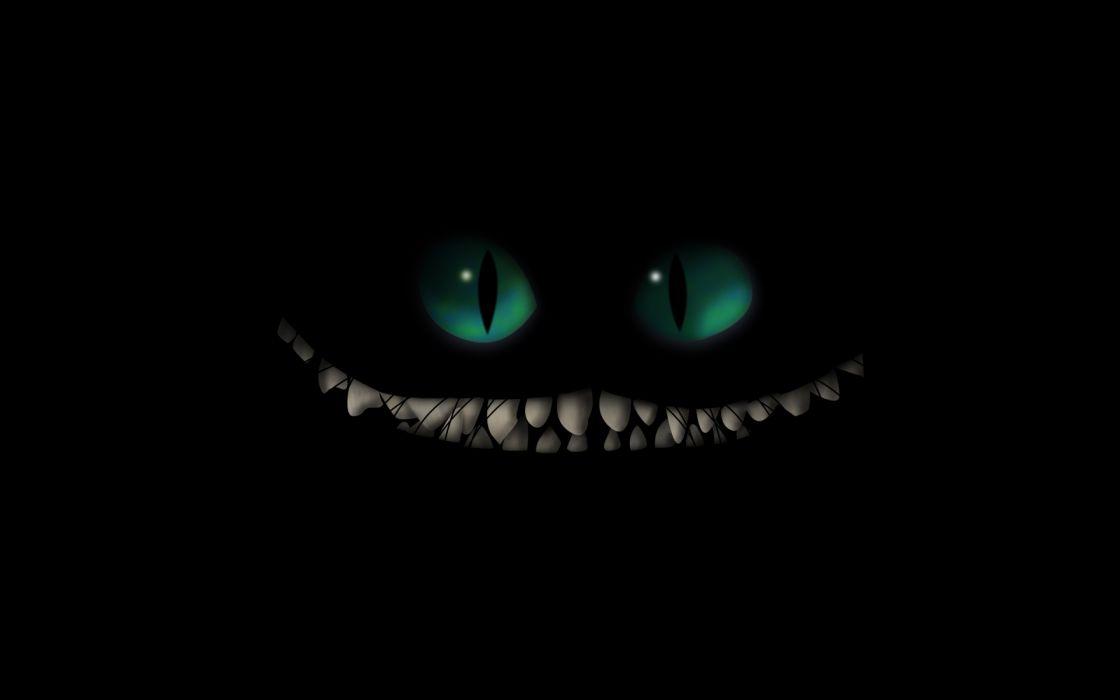 dark monster creature fangs evil scary creepy spooky halloween wallpaper
