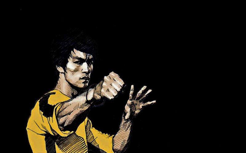 Bruce Lee martial arts asian oriental wallpaper