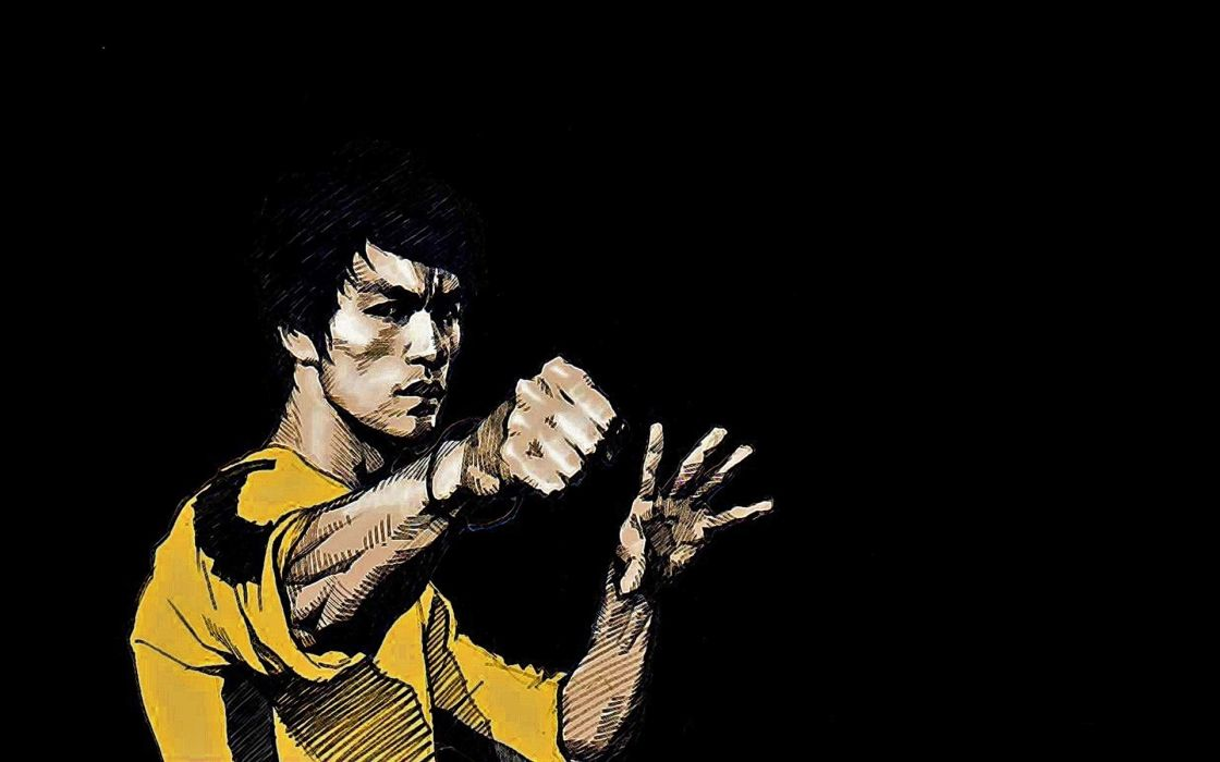 Bruce Lee martial arts asian oriental wallpaper