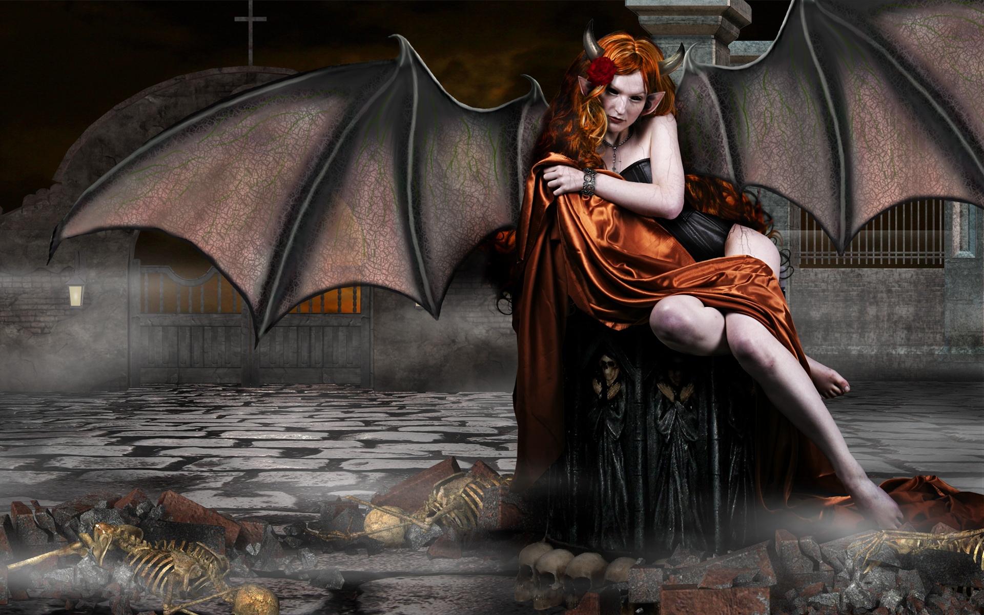 Demonic 3d pics nude video