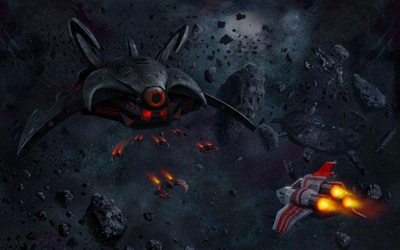 Battlestar Galactica sci fi space spaceship spacecraft wallpaper