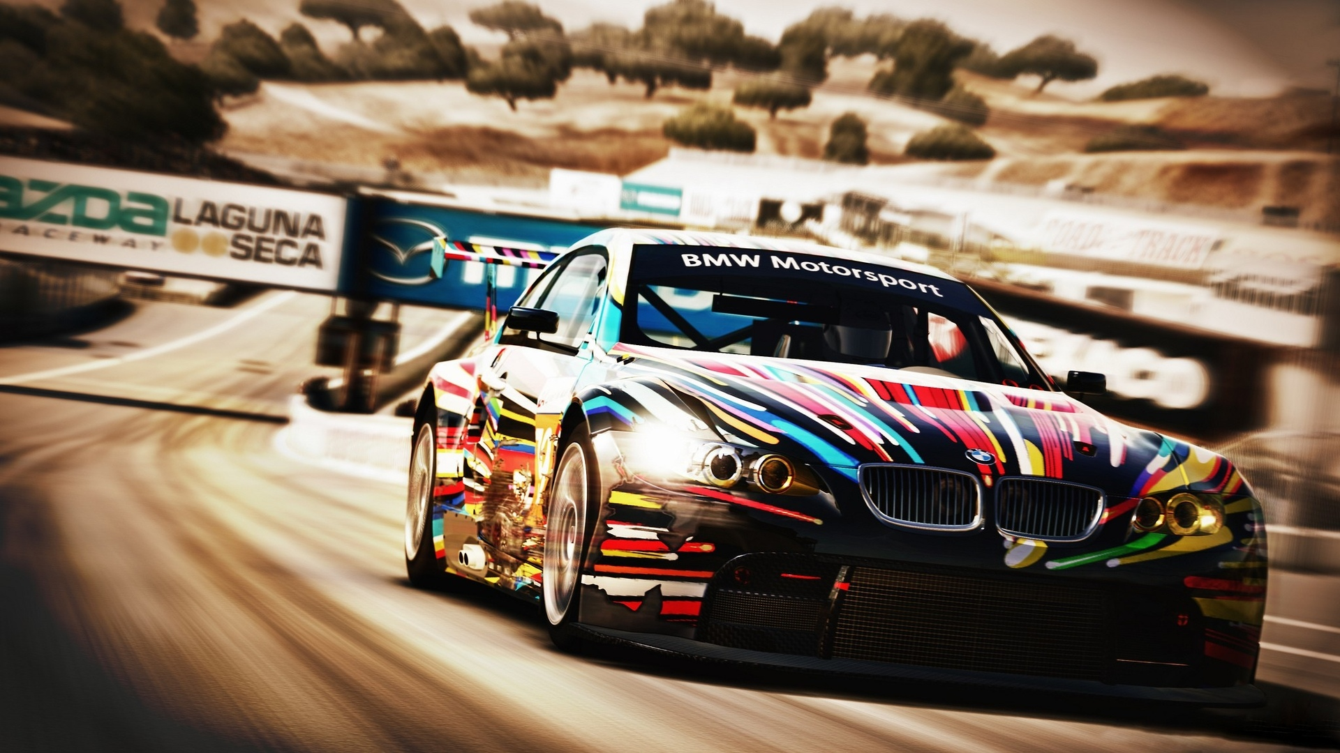 Forza Motorsports Vehicles Cars Bmw Racing Race Car Track Wallpaper