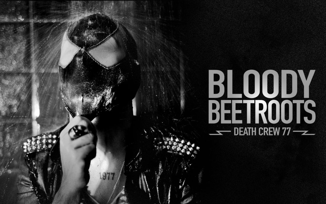 Bloody Beetroots mask dark wallpaper