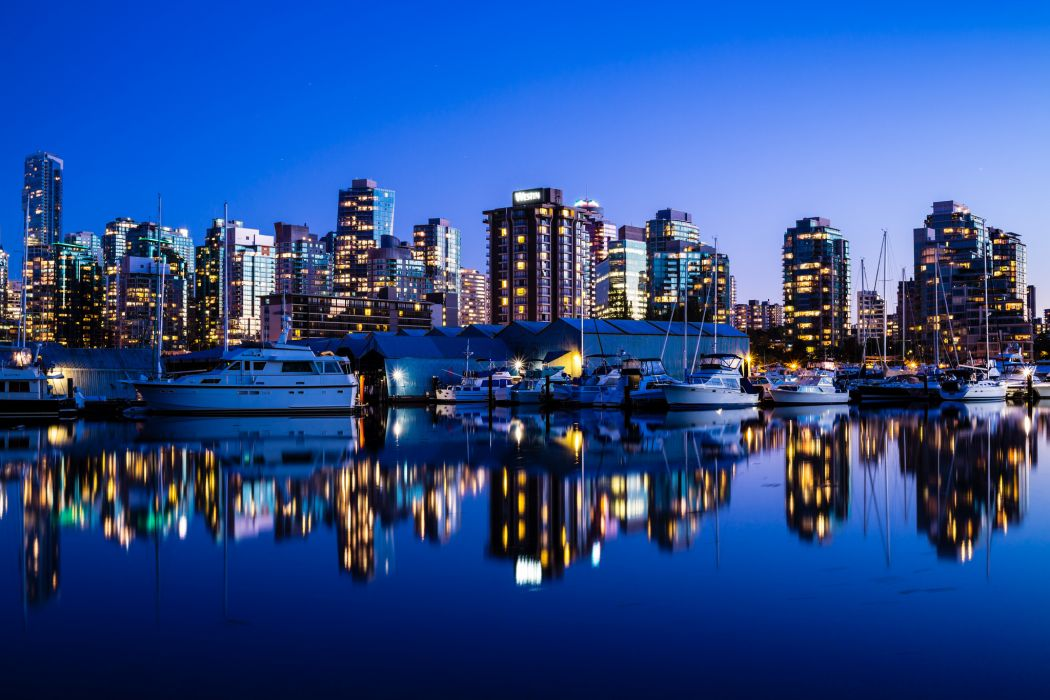 architecture buildings water reflection wallpaper