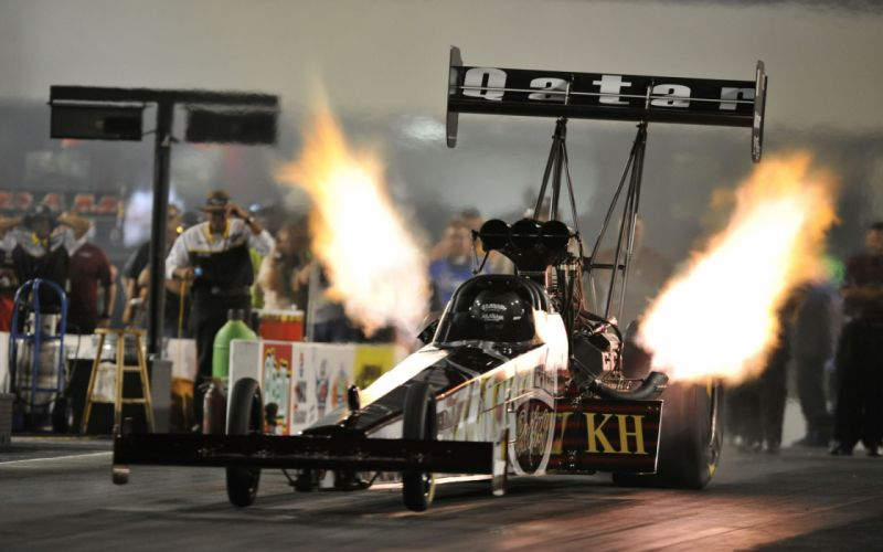 nhra drag racing track fire wallpaper