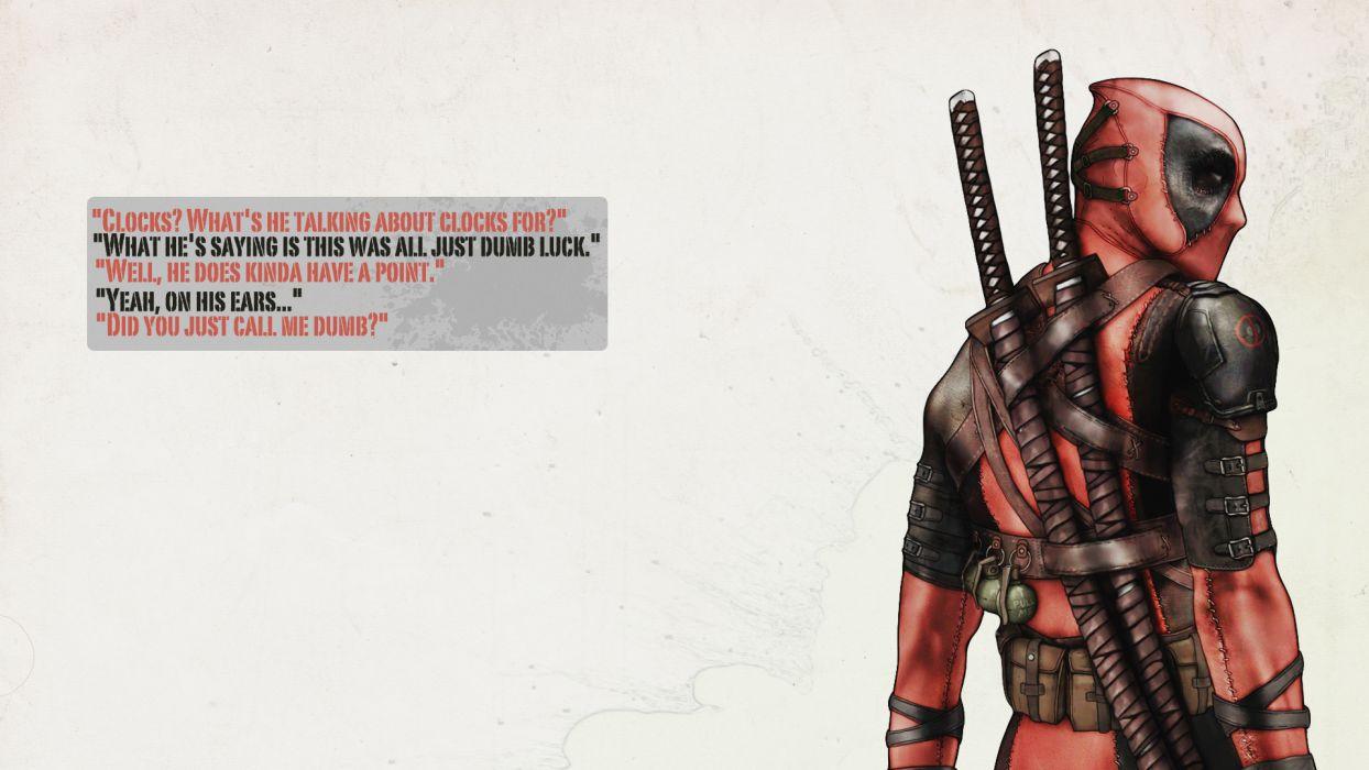 Deadpool comics wallpaper