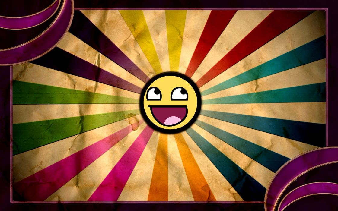 Humor smiley happy wallpaper