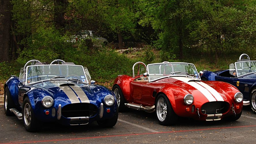 Shelby Super Cobra hot rod muscle cars wallpaper