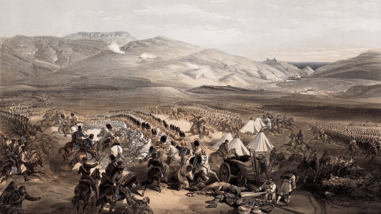 War Army Horses Battles Historical Military Art 1920x1080