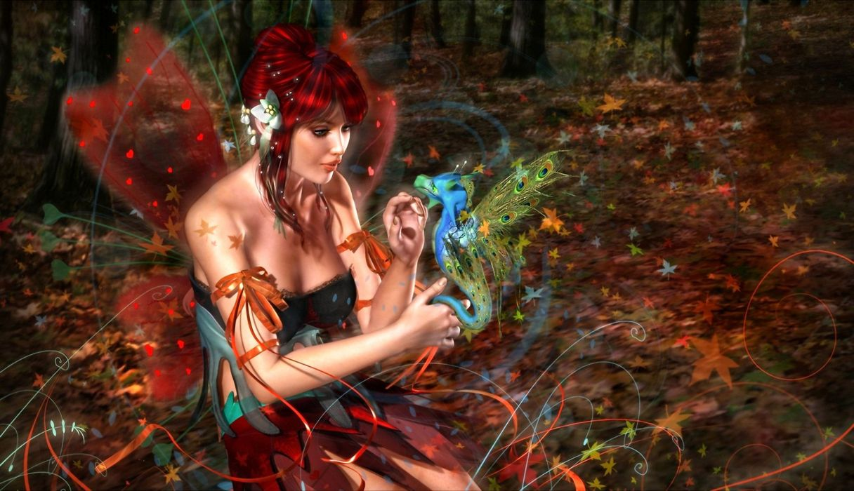 fantasy fairy women wallpaper