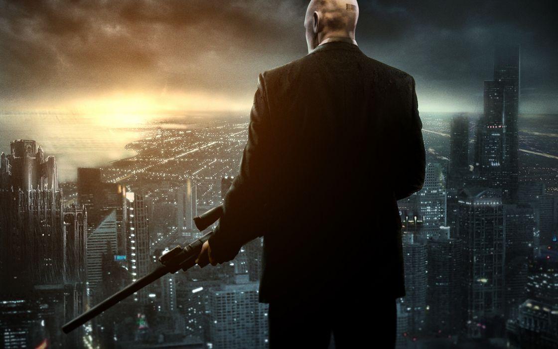 Hitman weapons sniper assassin wallpaper