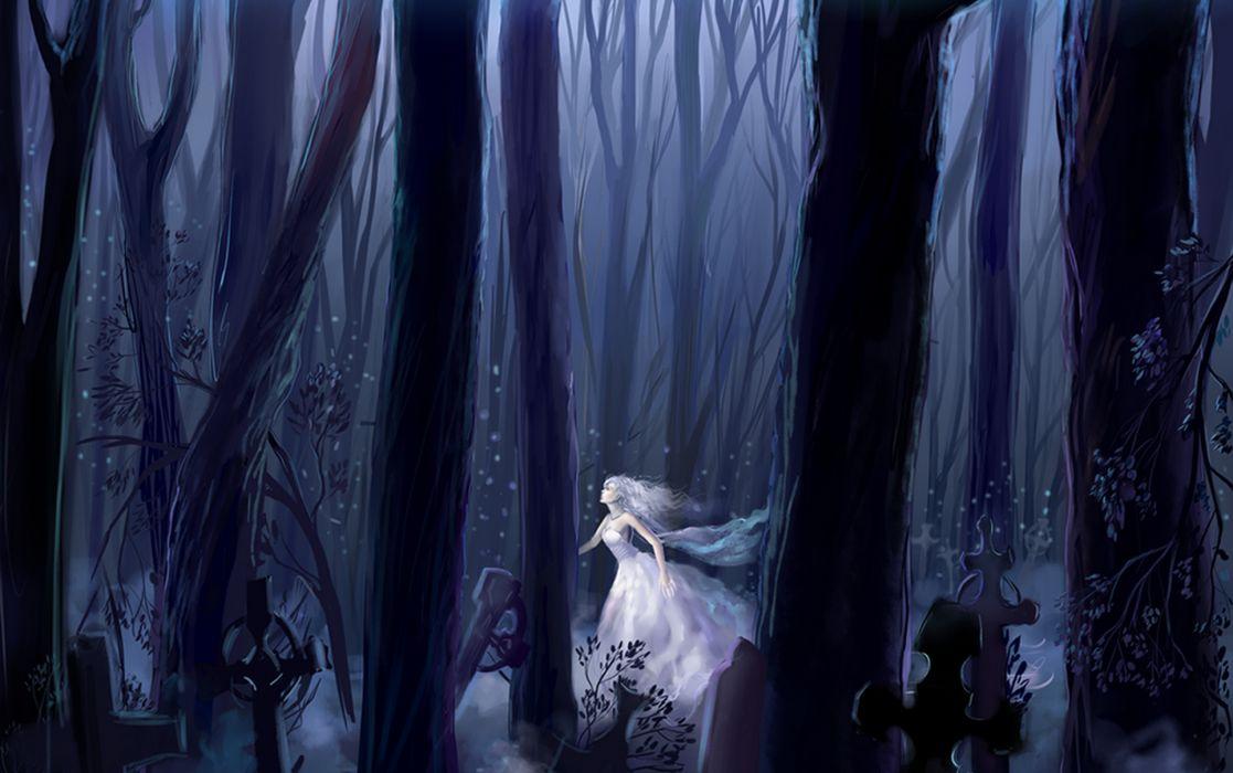 fantasy dark gothic horror wallpaper