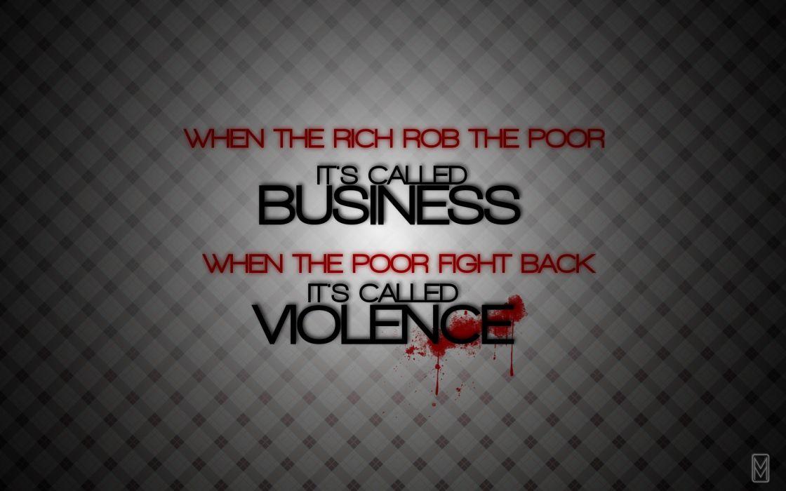 anarchy dark violence quote wallpaper