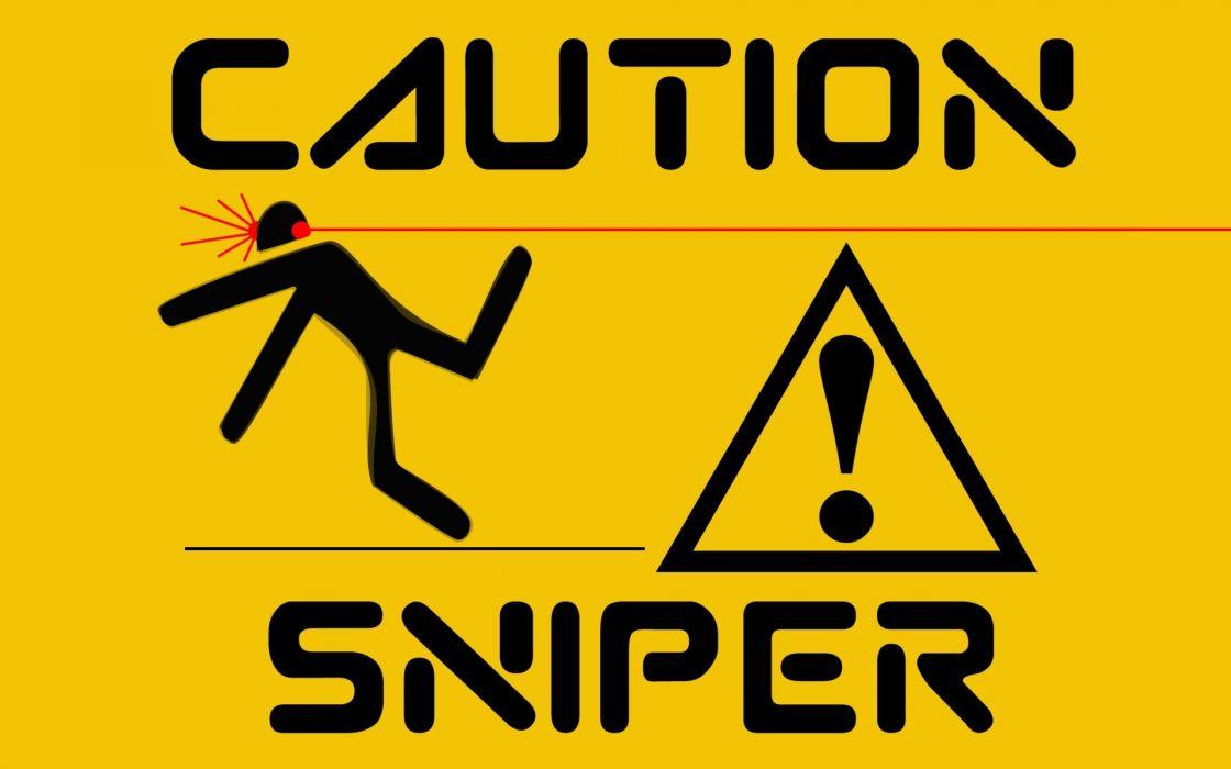humor sadic dark sniper weapons guns wallpaper