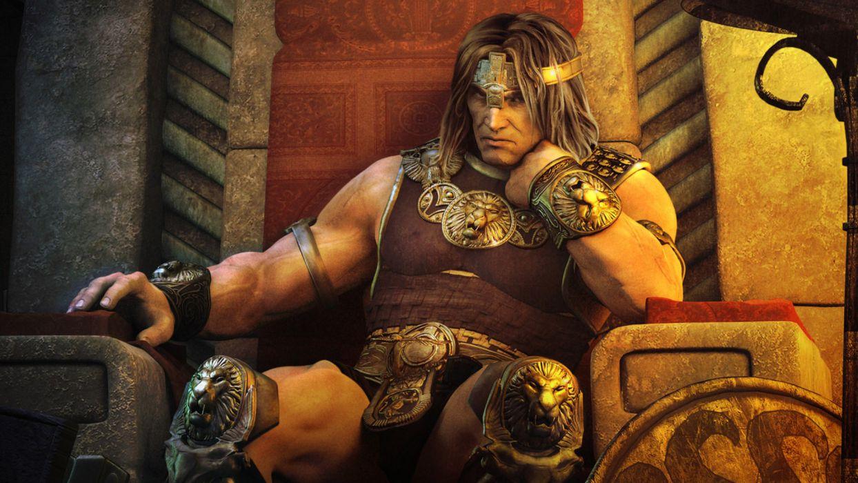 Conan fantasy warrior wallpaper