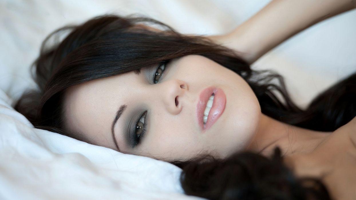women face sexy bryci adult model wallpaper
