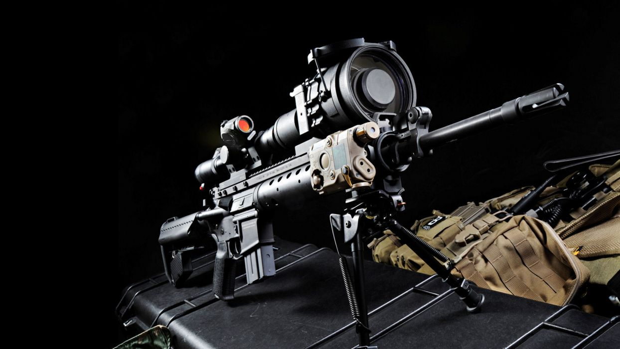 military weapons guns sniper wallpaper
