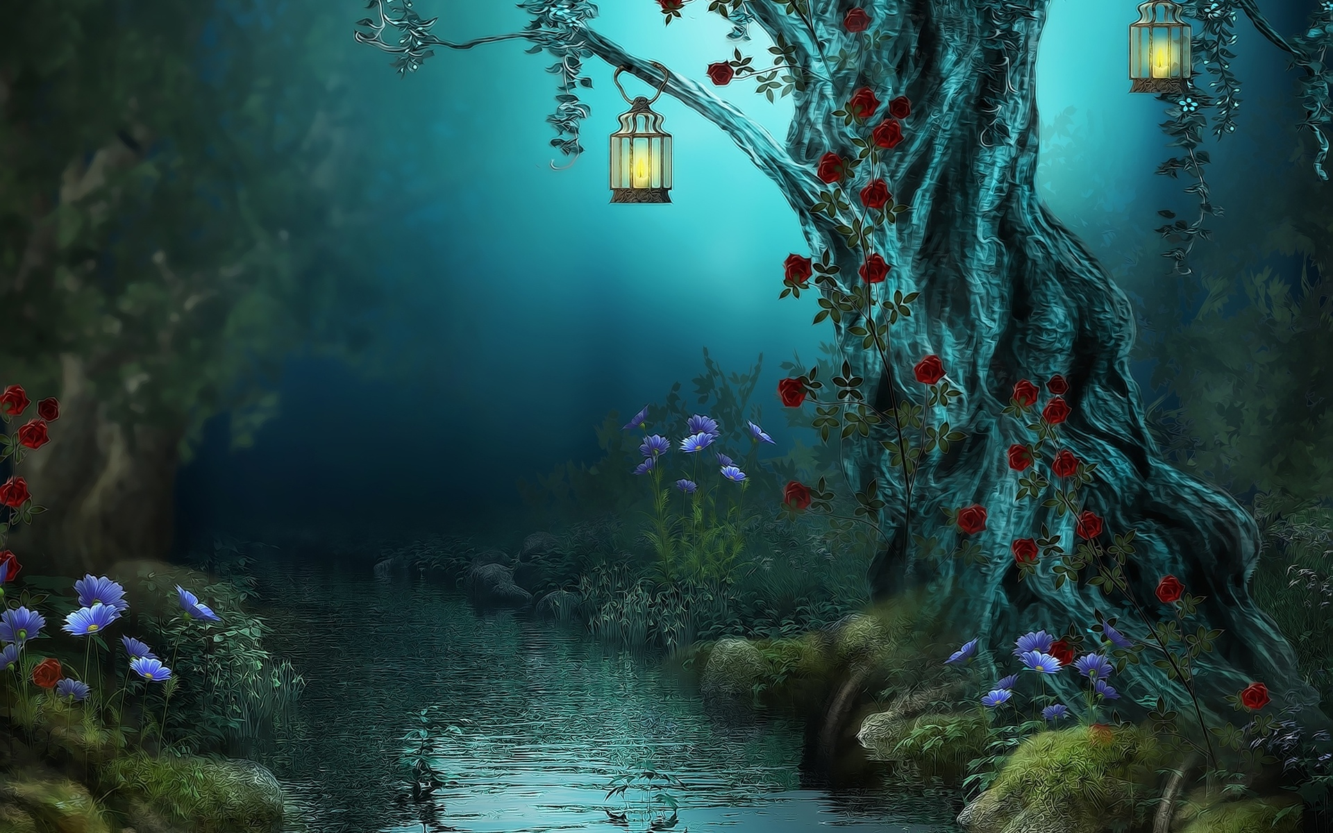 magical fantasy landscapes landscape - photo #30