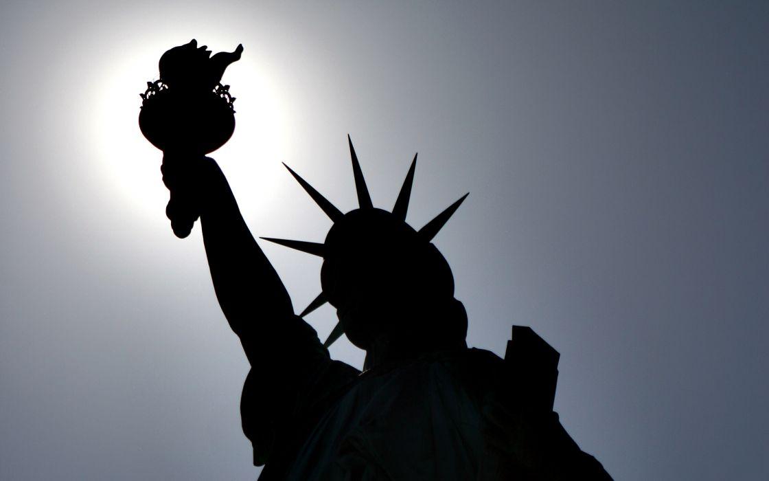 Statue of Liberty holiday july wallpaper