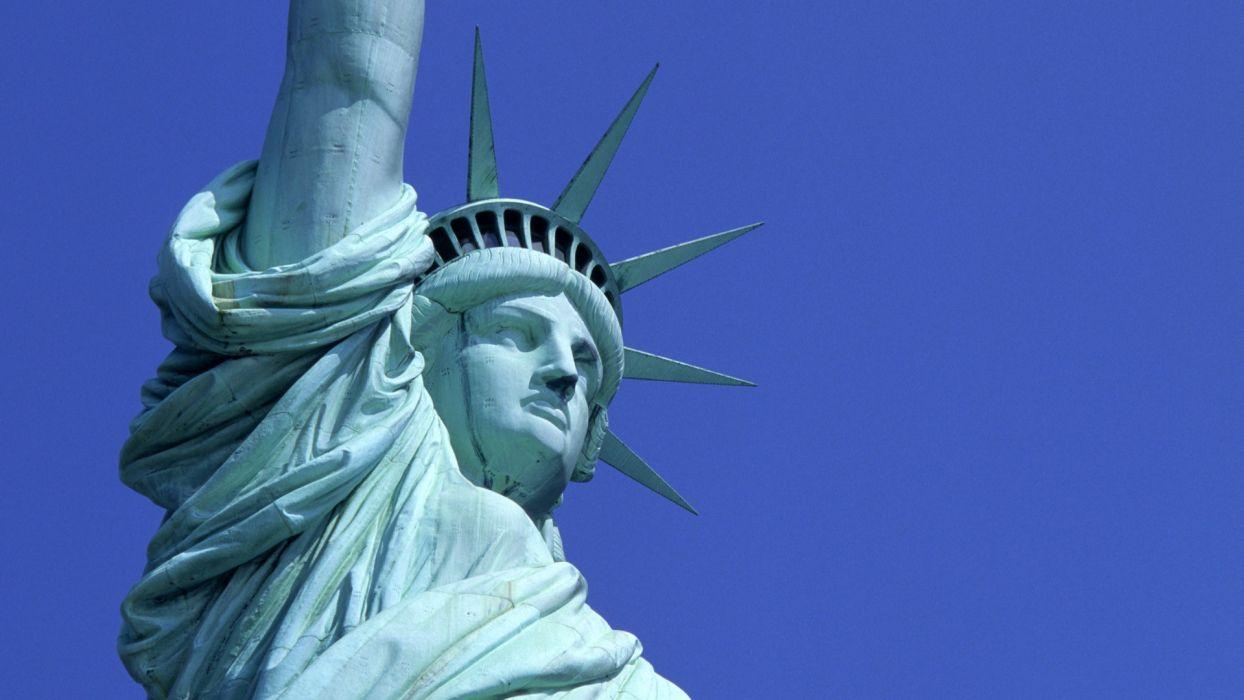statue liberty holiday july usa america wallpaper