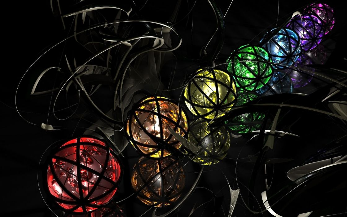 cg digital art wallpaper