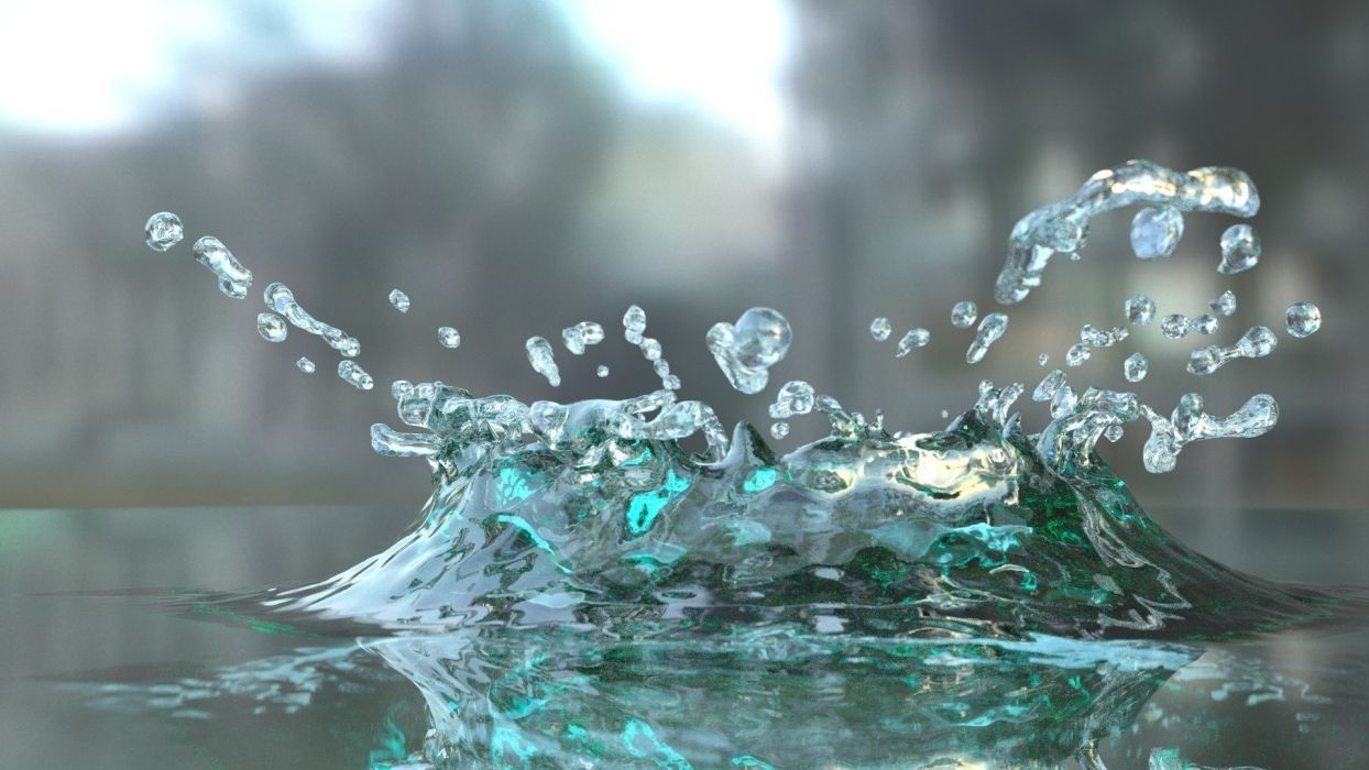 splash water photography wallpaper