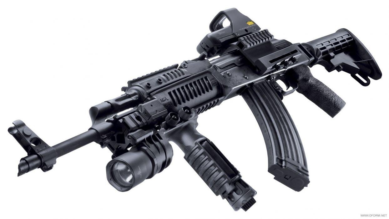 military weapons guns rifle assault mech  wallpaper