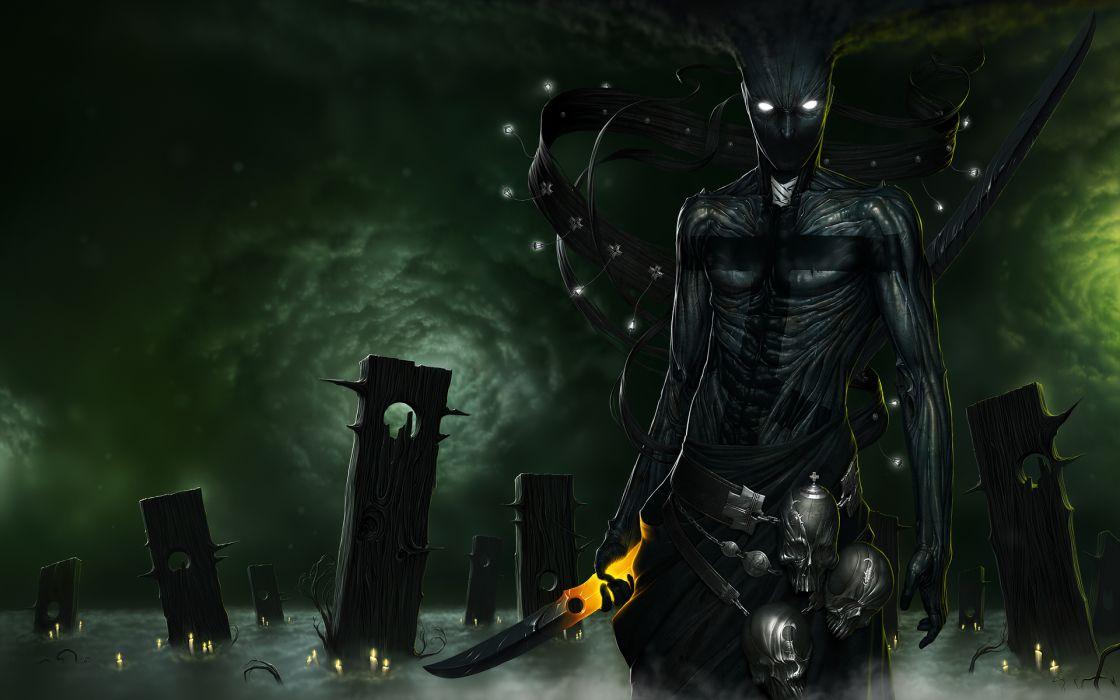 fantasy dark demon wallpaper