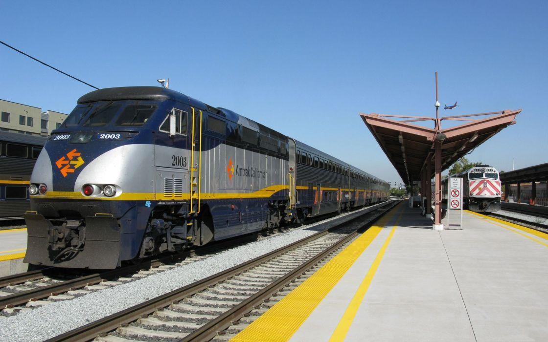 Train Amtrak wallpaper