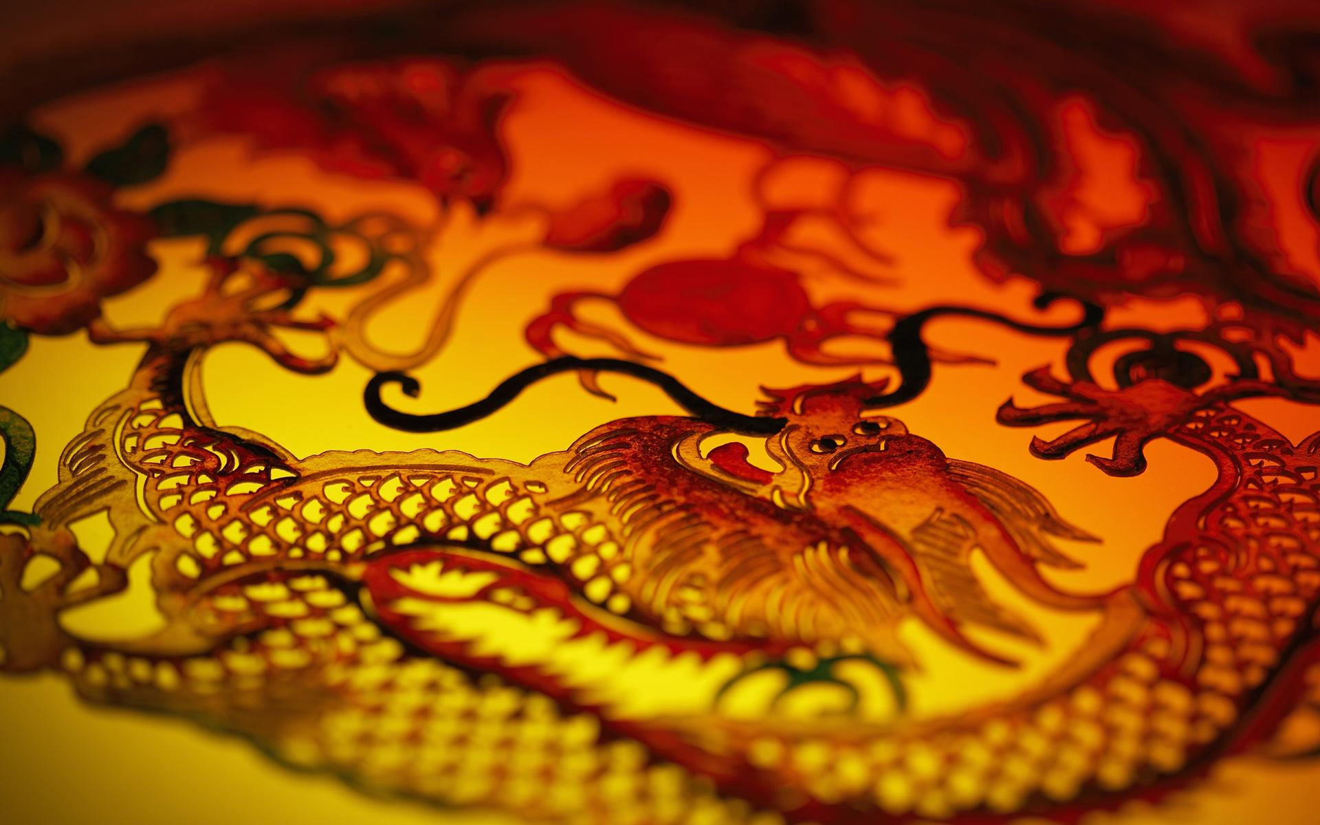 Fantasy dragon asian oriental art wallpaper 1920x1200 for Oriental wallpaper