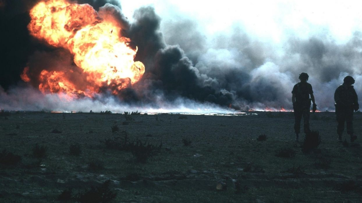 military explosion fire smoke soldier warrior wallpaper