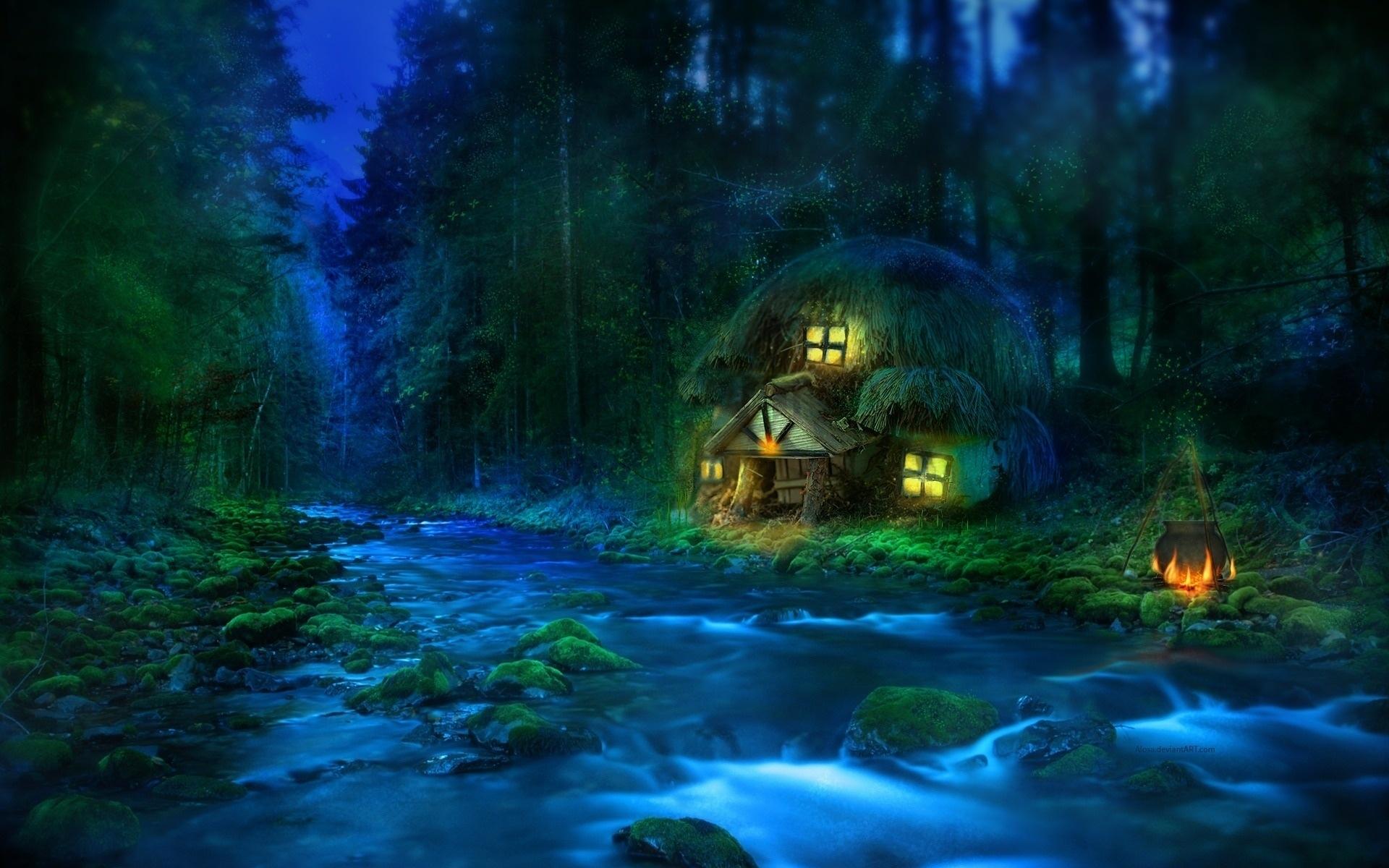 fantasy world: