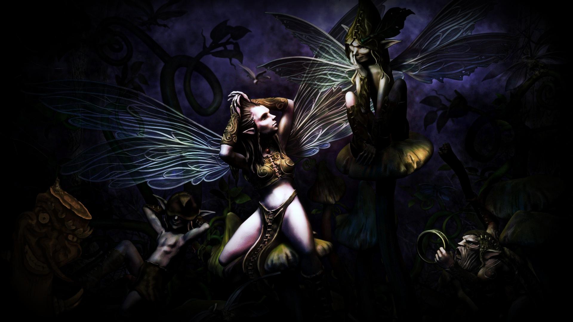 3d fantasy art fairies - photo #13