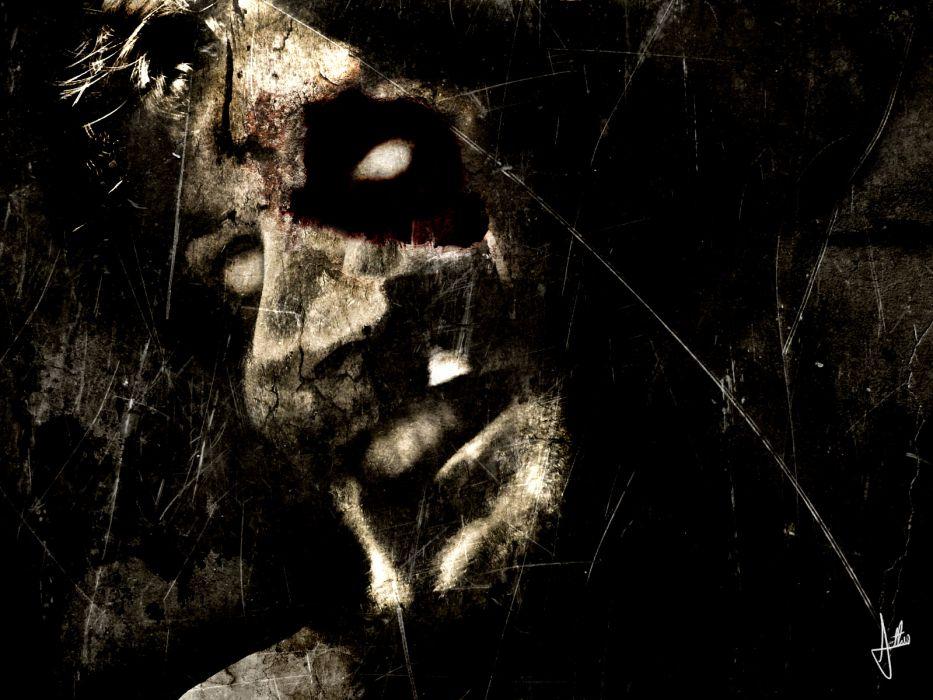 dark horror gothic demon wallpaper