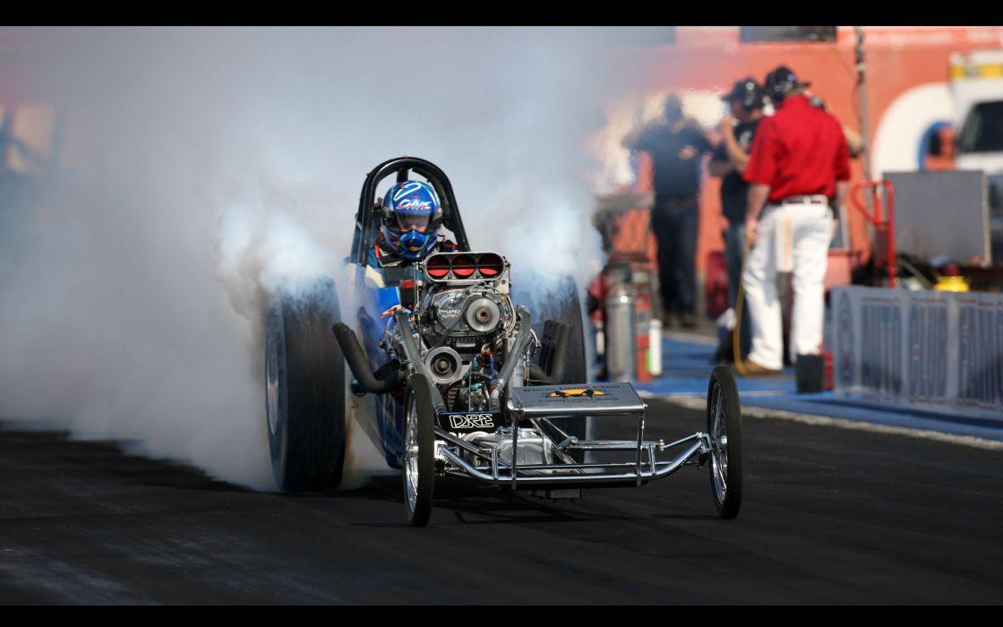 nhra drag racing hot rod engine burn smoke wallpaper